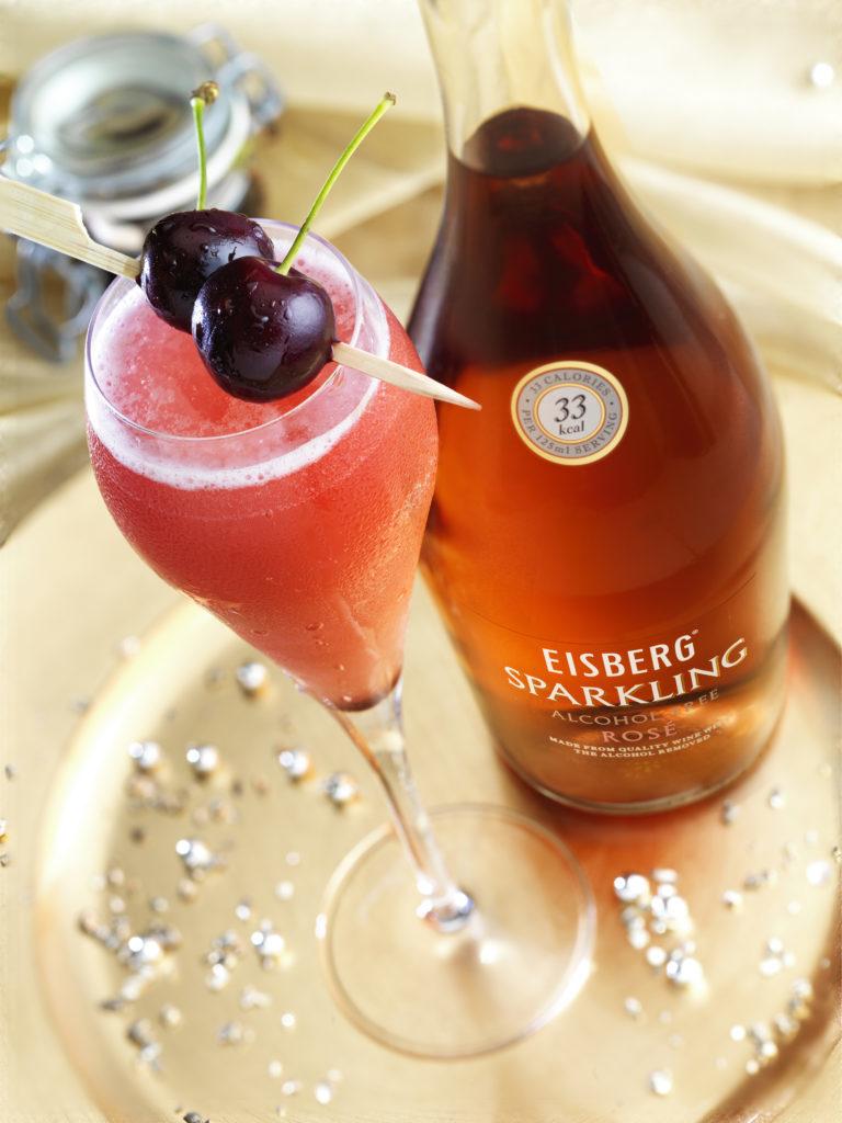 Sparkling Rose Mocktail