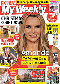 MW Special with Amanda Holden on the cover