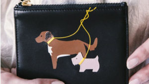 One of the Dog Trust purses