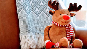Rudolph teddy bear