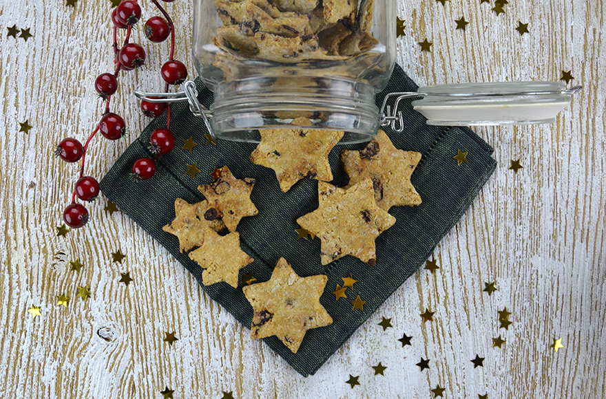Star shaped dog biscuits recipe
