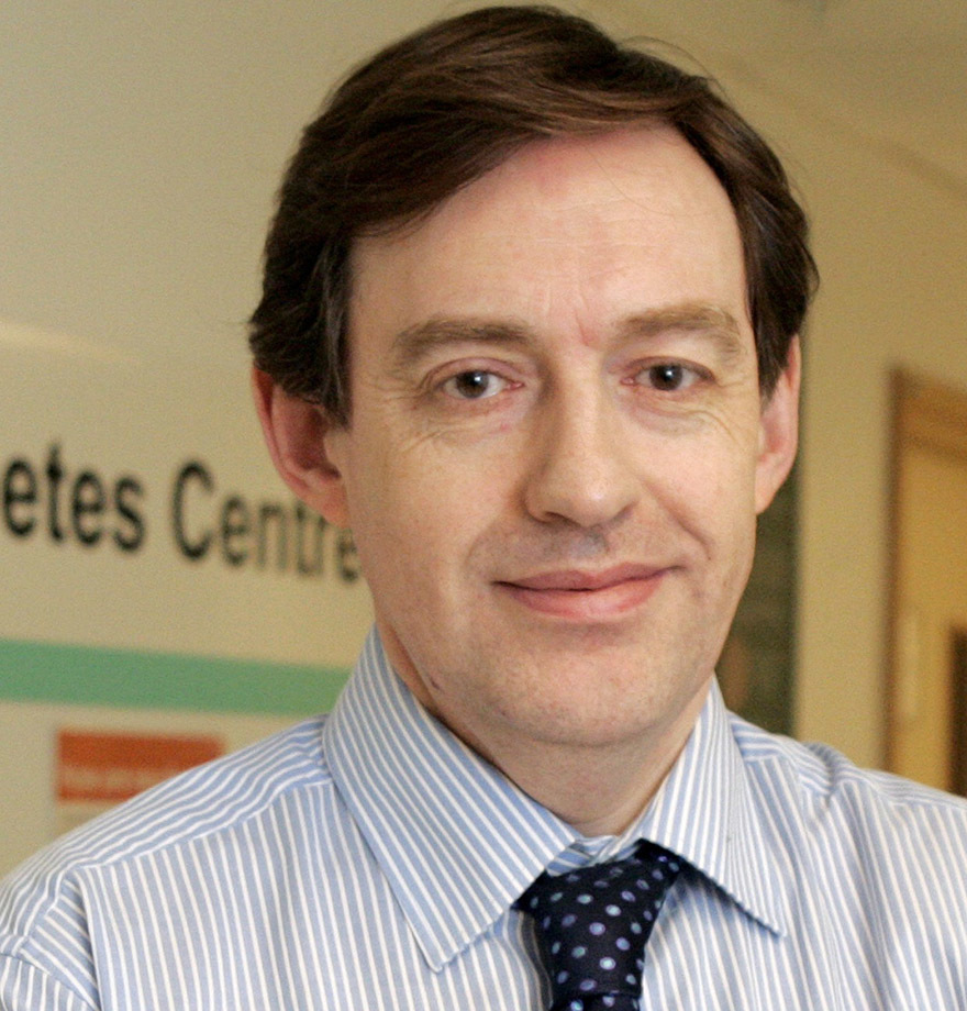 Diabetologist Dr David Hopkins from Kings College London