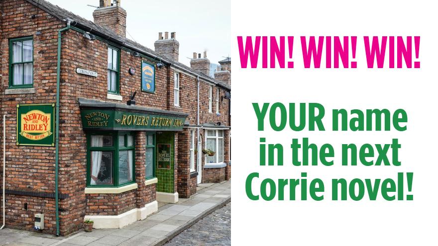 Corrie win ad