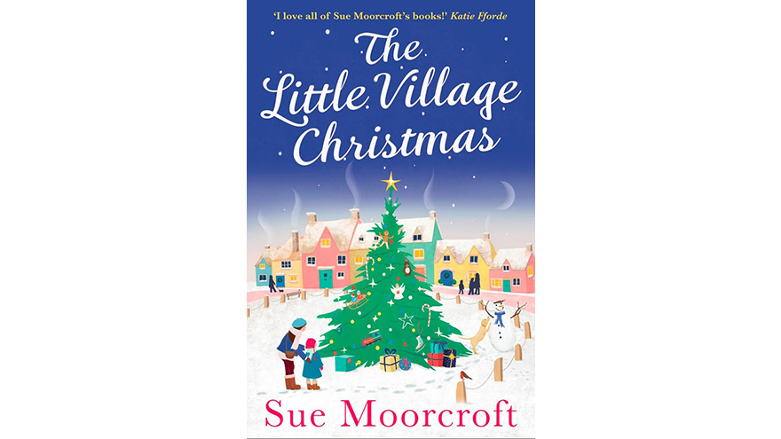 cover of The Little Village Christmas by Sue Moorcroft