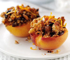 Quick and delicious - baked peaches are so easy to make