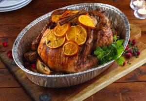 Christmas Turkey in Orange & spices