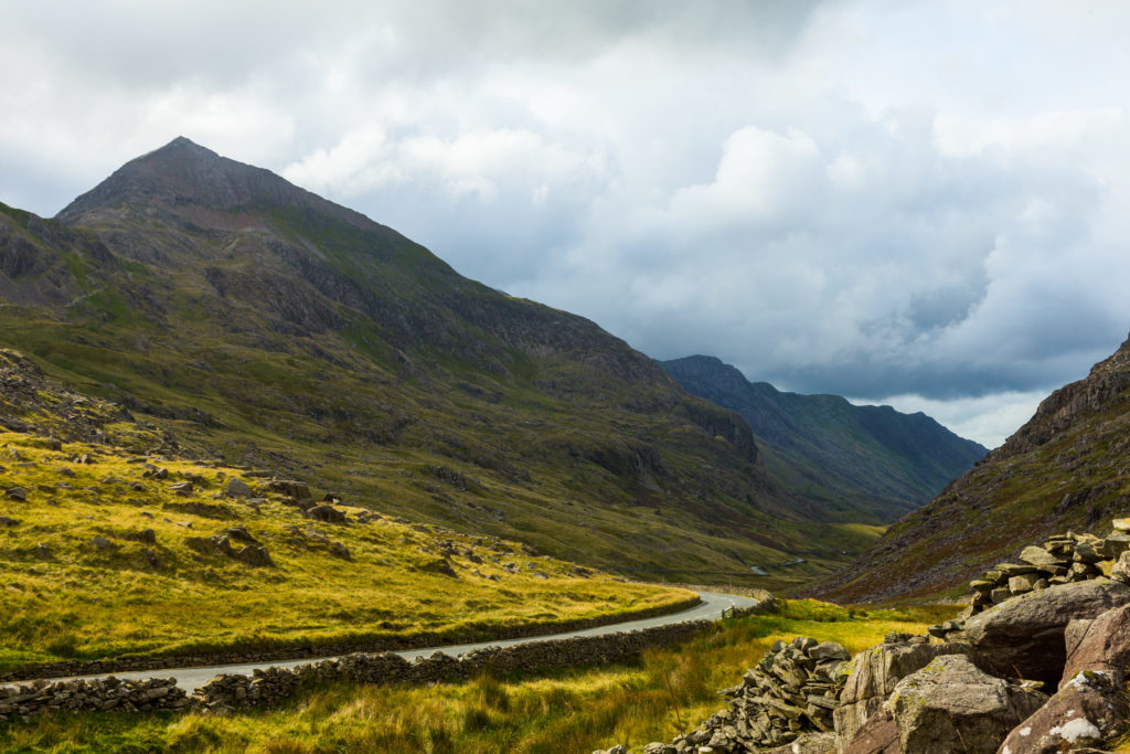 Pen y Pass Snowdonia North Wales