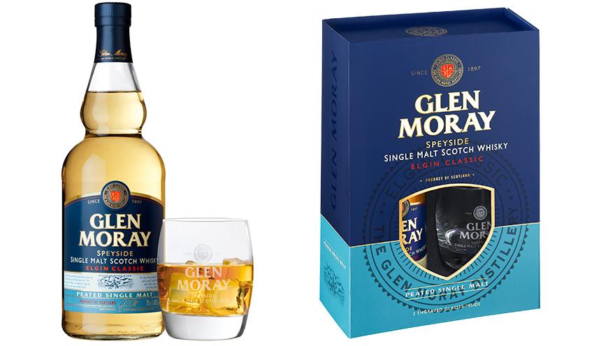 Glen Moray Peated Gift Set