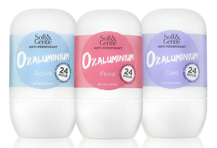 3 aluminium free deodorant
