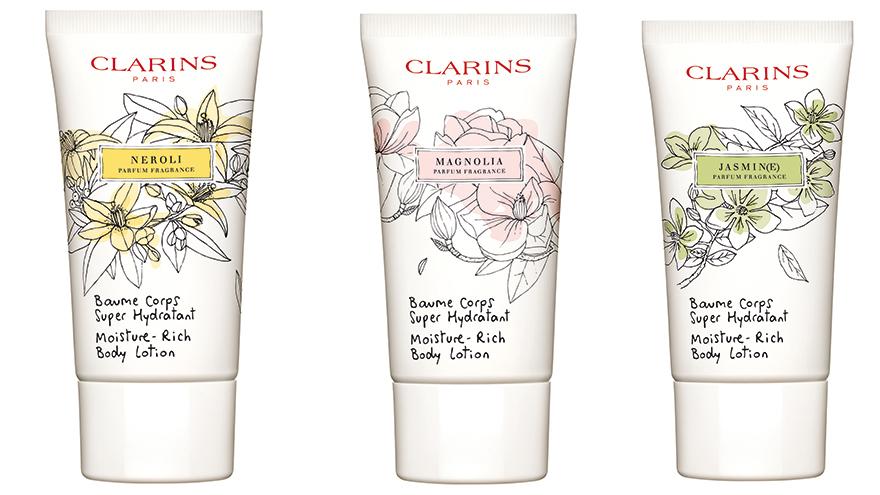 3 Clarins hand creams