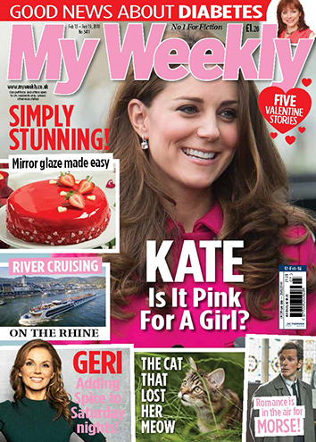 cover of My Weekly with photo of Duchess of Cambridge