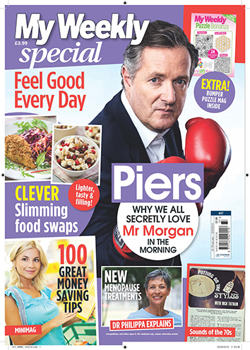 Cover of special 37 with Piers Morgan