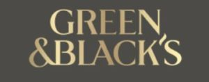 green and black's logo