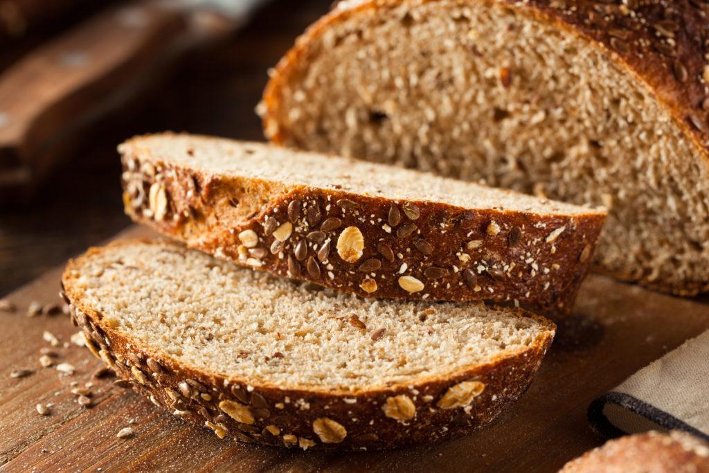 Organic Homemade Whole Wheat Bread Ready to Eat