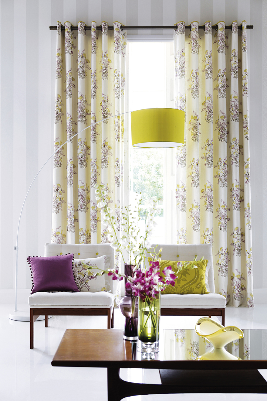 Fresh colours and lighter fabrics can change your whole room Pic: Istockphoto