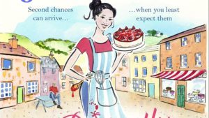 the perfectly imperfect woman, cartoon of woman holding cheesecake