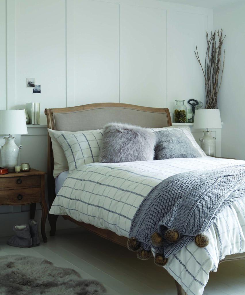 Dunelm L'Hiver Bedroom