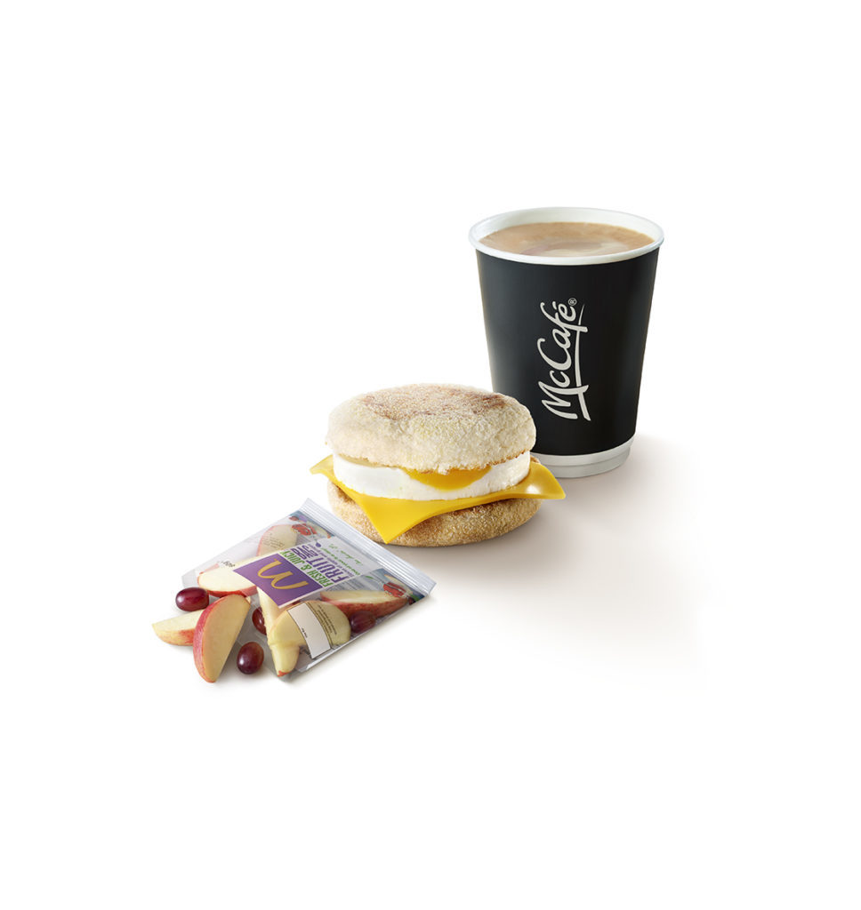 McDonald's coffee meal