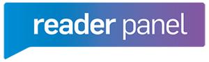 Reader panel logo