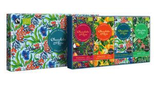 Chocolate and Love's beautiful gift box