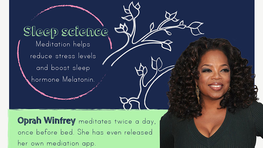 Oprah Winfrey and sleep