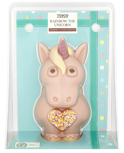 Tesco Rainbow The Unicorn, £3.50