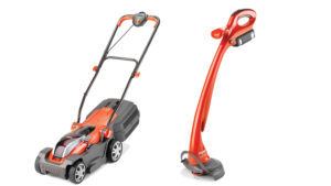 Flymo mower and trimmer