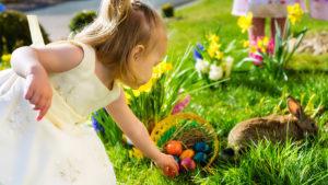Children on an Easter Egg hunt Pic: Istockphoto