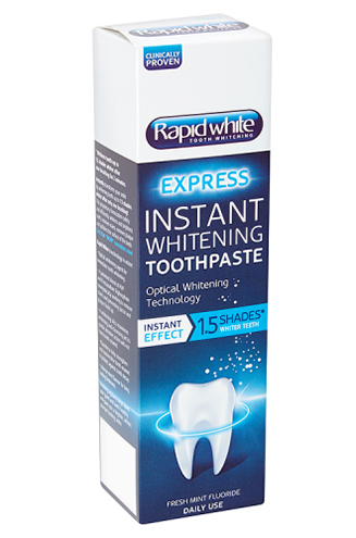 Instant Whitening Toothpaste from RapidWhite