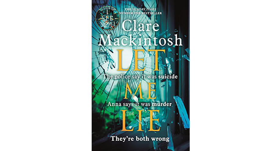 let me lie book cover