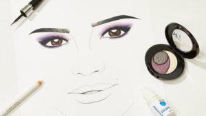 Illustration of make up