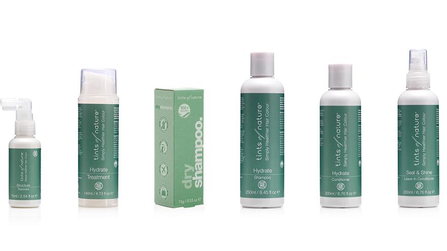 Tints of Nature haircare range