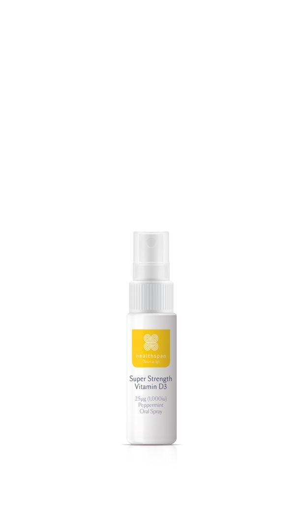 Super Strength Vitamin D3 Peppermint Oral Spray