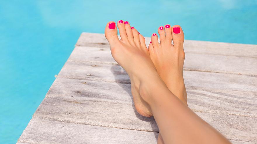 prep your feet