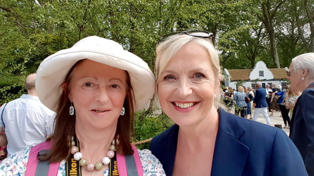 Photo of Susie White and Carol Kirkwood