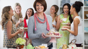 Tea party with women Pic: Istockphoto
