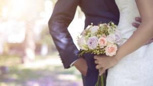 Bride holding bouquet Pic: Istockphoto