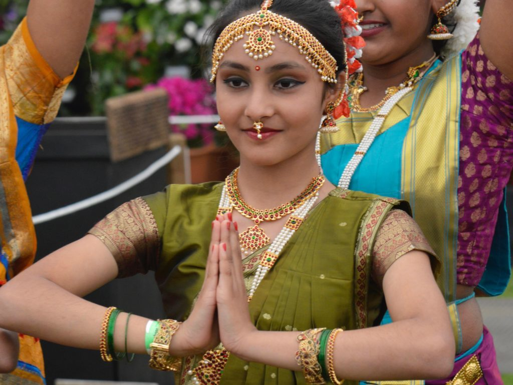Indian dancing girl