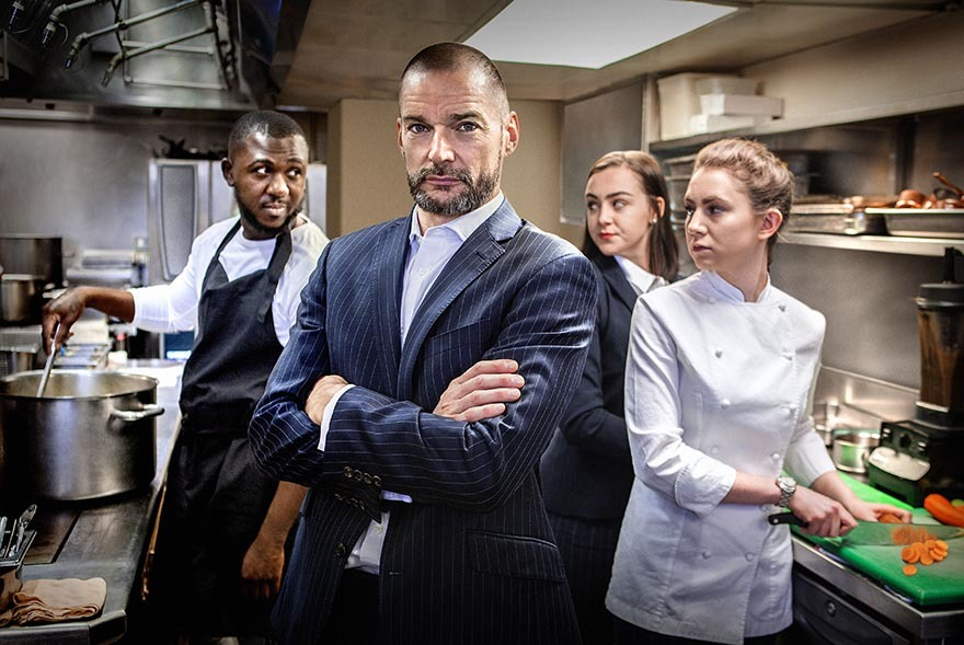 Fred Sirieix Pic: BBC Pictures