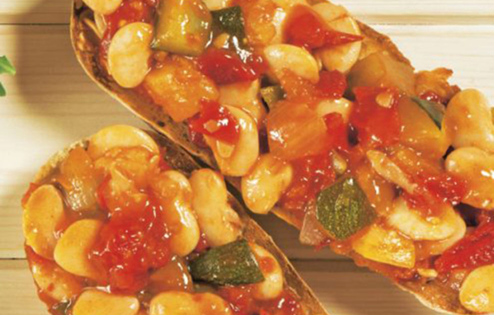 Bean feast lunch recipe