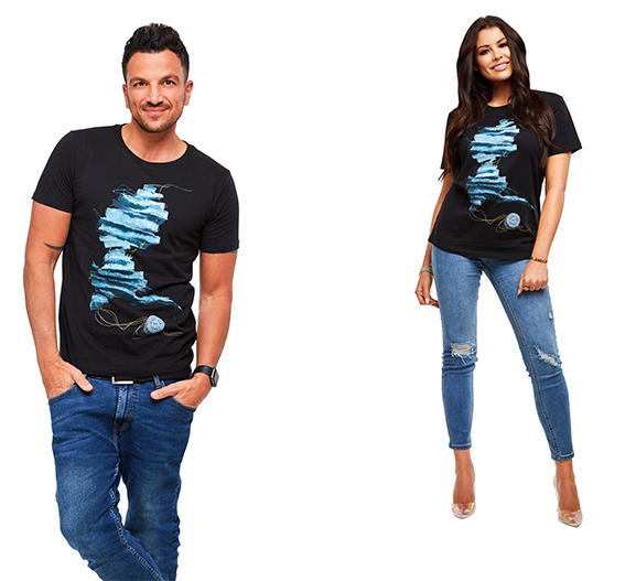 Peter Andre and Jess Wright