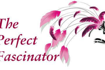 A pink fascinator illustration