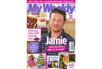 Cover of My Weekly on sale June 19, 2018, featuring Jamie Oliver and summer berry recipes