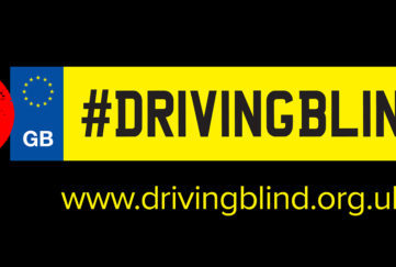 Driving blind heading
