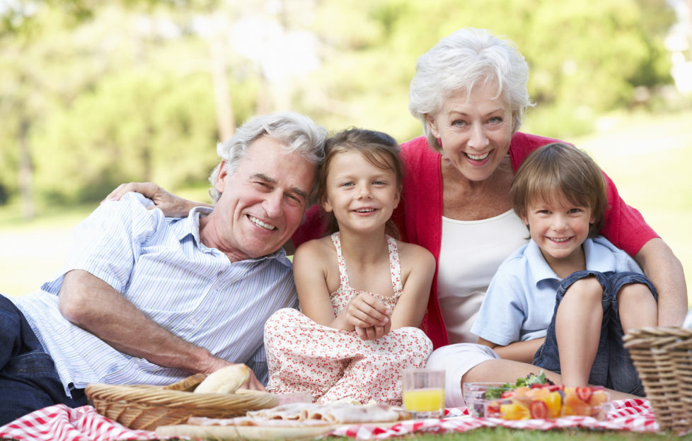 Grandparents And Grandchildren Enjoying Picnic Together Pic: Istockphoto