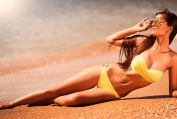 self tanning model