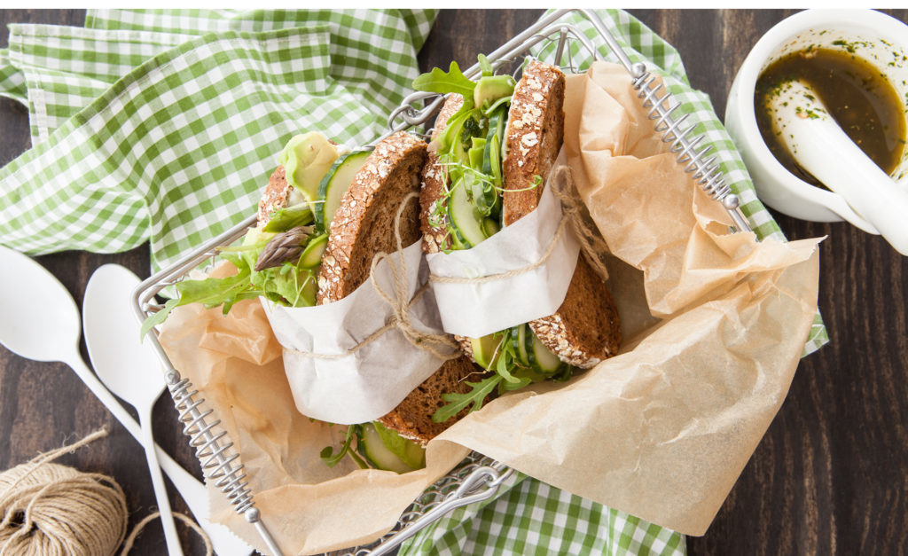 Wholemeal sandwich Pic: Istockphoto