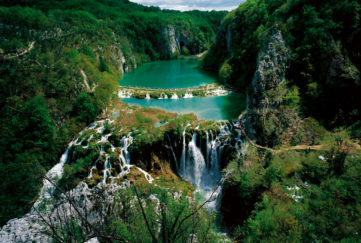 Stunning shot of Croatian River