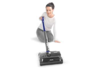Woman with Beldray vaccum