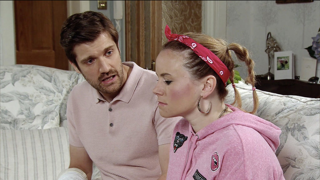 Henry and Gemma on Coronation Street